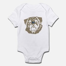 Pug and Butterfly Infant Creeper
