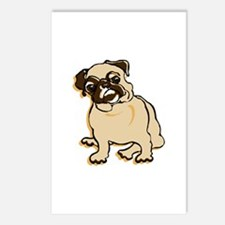 Talk to the Pug Postcards (Package of 8)
