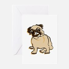 Talk to the Pug Greeting Cards (Pk of 10)