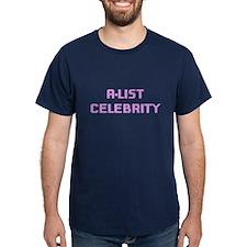 A-List Celebrity (pink) T-Shirt