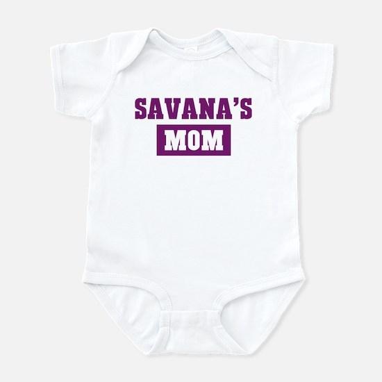 Savanas Mom Infant Bodysuit