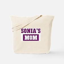 Sonias Mom Tote Bag