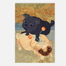 Deelybopper Pugs Postcards (8)