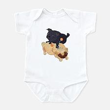 Deelybopper Pugs Infant Creeper