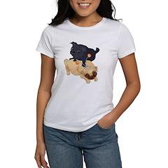 Deelybopper Pugs Women's T-Shirt
