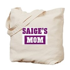 Saiges Mom Tote Bag
