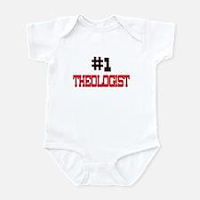 Number 1 THEOLOGIST Infant Bodysuit