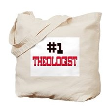 Number 1 THEOLOGIST Tote Bag