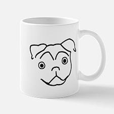 Pug Line Mug