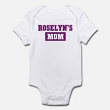 Roselyns Mom Infant Bodysuit