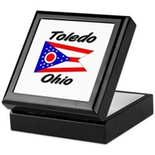 Toledo Ohio Keepsake Box