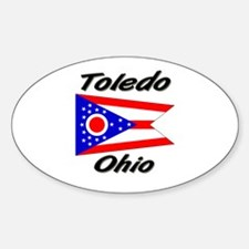 Toledo Ohio Oval Decal