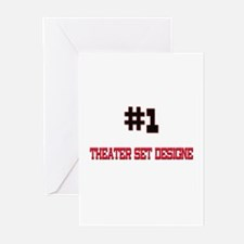 Number 1 THEATRE DIRECTOR Greeting Cards (Pk of 10