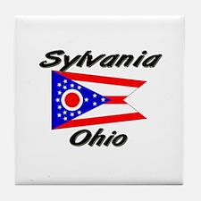Sylvania Ohio Tile Coaster