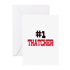 Number 1 THAUMATOLOGIST Greeting Cards (Pk of 10)