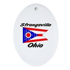 Strongsville Ohio Oval Ornament