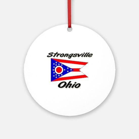 Strongsville Ohio Ornament (Round)