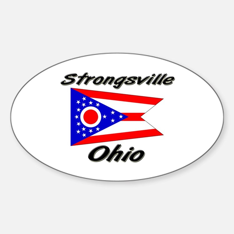 Strongsville Ohio Oval Decal