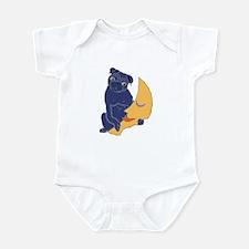 Pug and Moon Infant Creeper