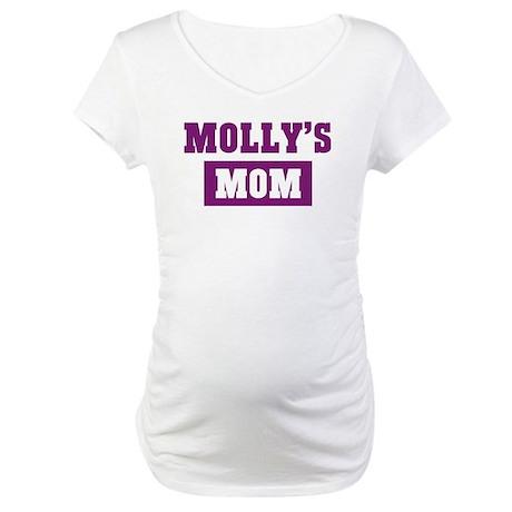 Mollys Mom Maternity T-Shirt