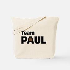 Team Paul Paw Print Tote Bag