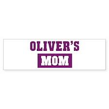 Olivers Mom Bumper Bumper Sticker