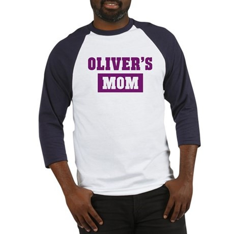 Olivers Mom Baseball Jersey