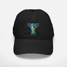 Beach Pug Baseball Hat
