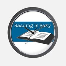 Reading Is Sexy Wall Clock