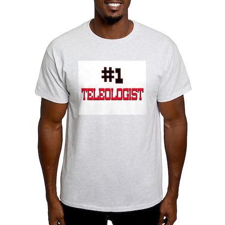 Number 1 TELEPHONE OPERATOR Light T-Shirt