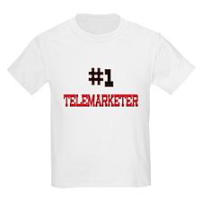 Number 1 TELEMARKETER T-Shirt