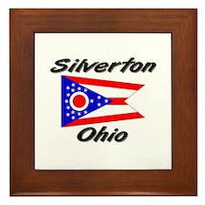 Silverton Ohio Framed Tile