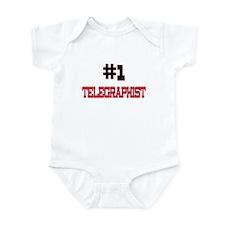 Number 1 TELEGRAPHIST Infant Bodysuit