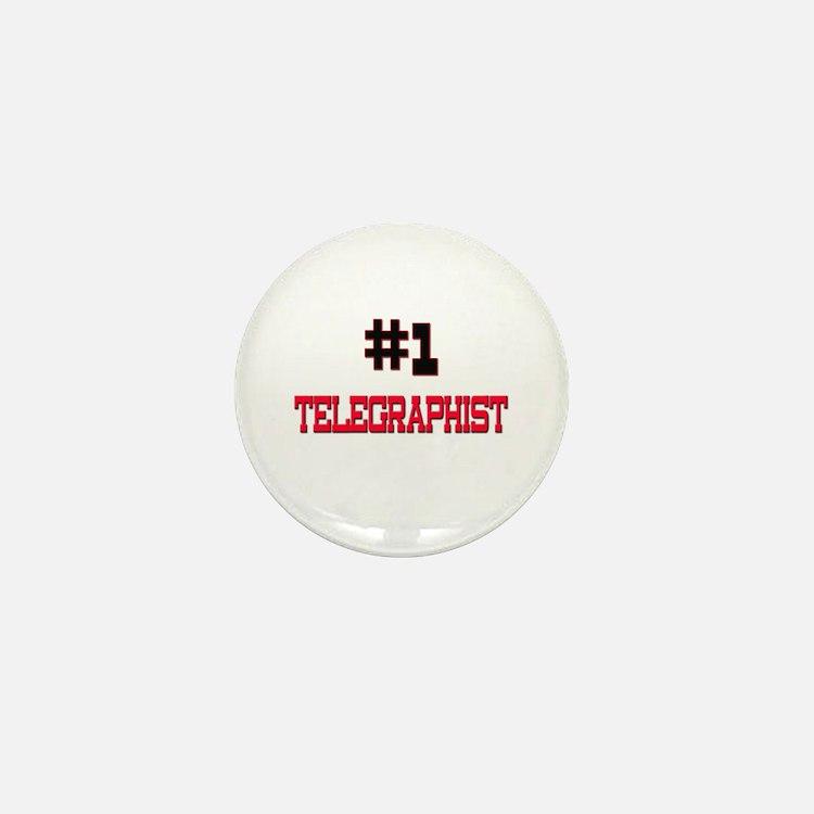 Number 1 TELEGRAPHIST Mini Button