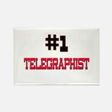 Number 1 TELEGRAPHIST Rectangle Magnet