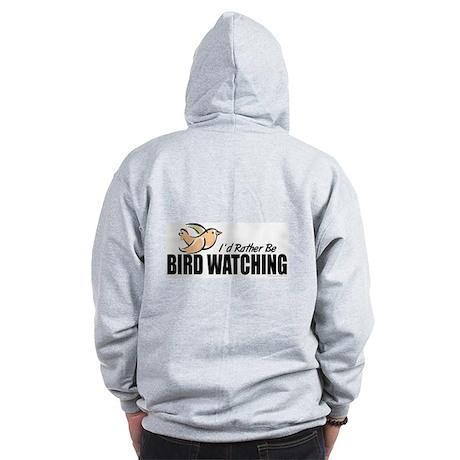 Bird Watching Zip Hoodie