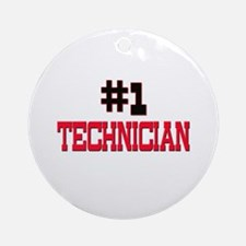 Number 1 TECHNOLOGIST Ornament (Round)