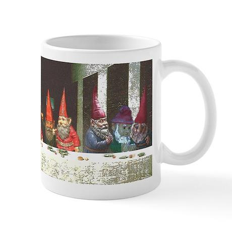"""""""Gnome"""" Last Supper Mug"""