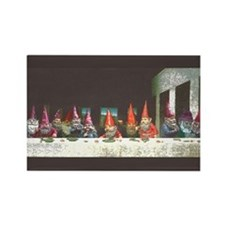"""""""Gnome"""" Last Supper Rectangle Magnet"""