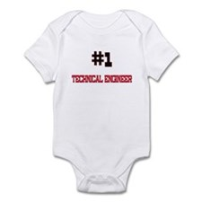 Number 1 TECHNICAL ENGINEER Infant Bodysuit