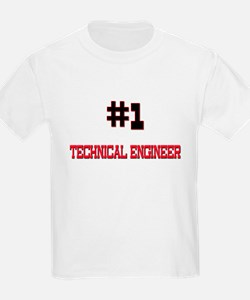 Number 1 TECHNICAL ENGINEER T-Shirt