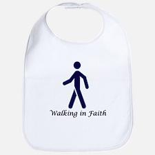 Walking in Faith Bib