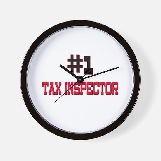 Number 1 TAX INSPECTOR Wall Clock