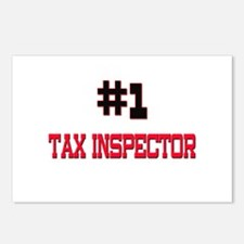 Number 1 TAX INSPECTOR Postcards (Package of 8)