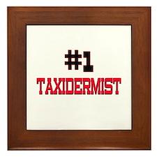 Number 1 TAXIDERMIST Framed Tile