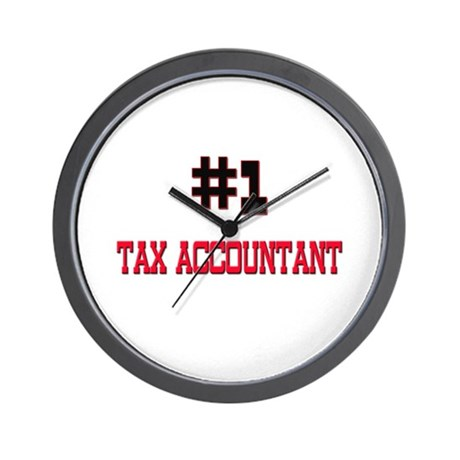 Number 1 TAX ACCOUNTANT Wall Clock