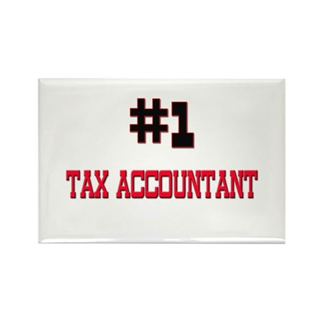 Number 1 TAX ACCOUNTANT Rectangle Magnet (10 pack)