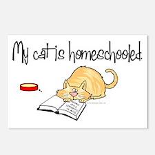 Cute Home school Postcards (Package of 8)