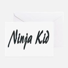Ninja Kid Greeting Cards (Pk of 10)