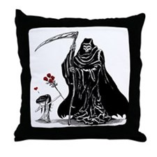 First Crush Throw Pillow
